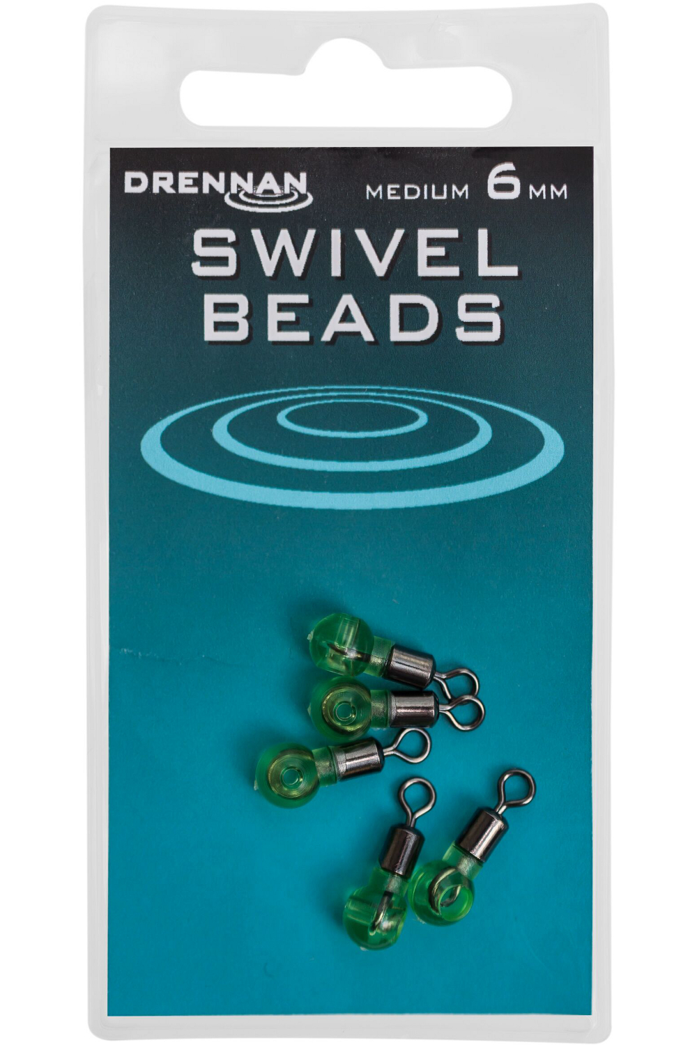 Вертлюг с бусиной Drennan Swivel Beads Medium 6 mm